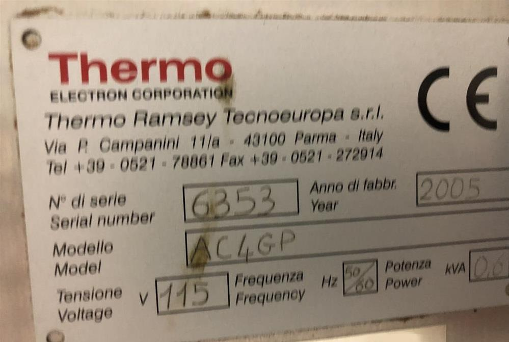 Image RAMSEY AC4000i Autocheck Checkweigher 1378413