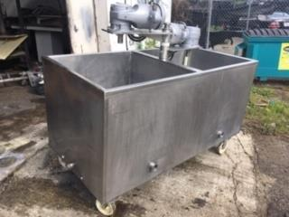 Image Two Compartment Stainless Steel Jacketed Tank 1383205