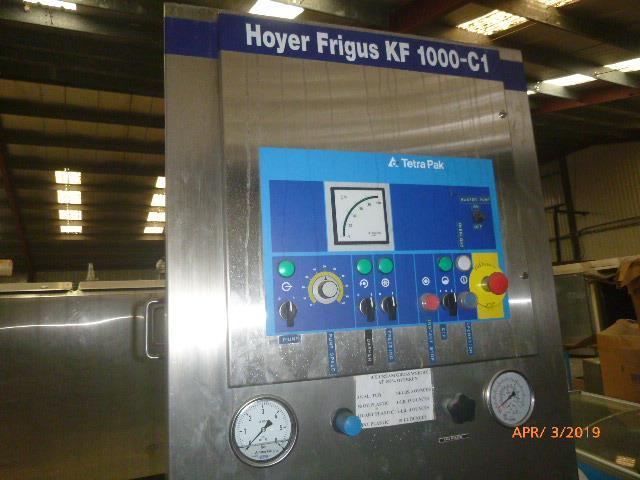 Image TETRA PAK HOYER Continuous Freezer 1383262