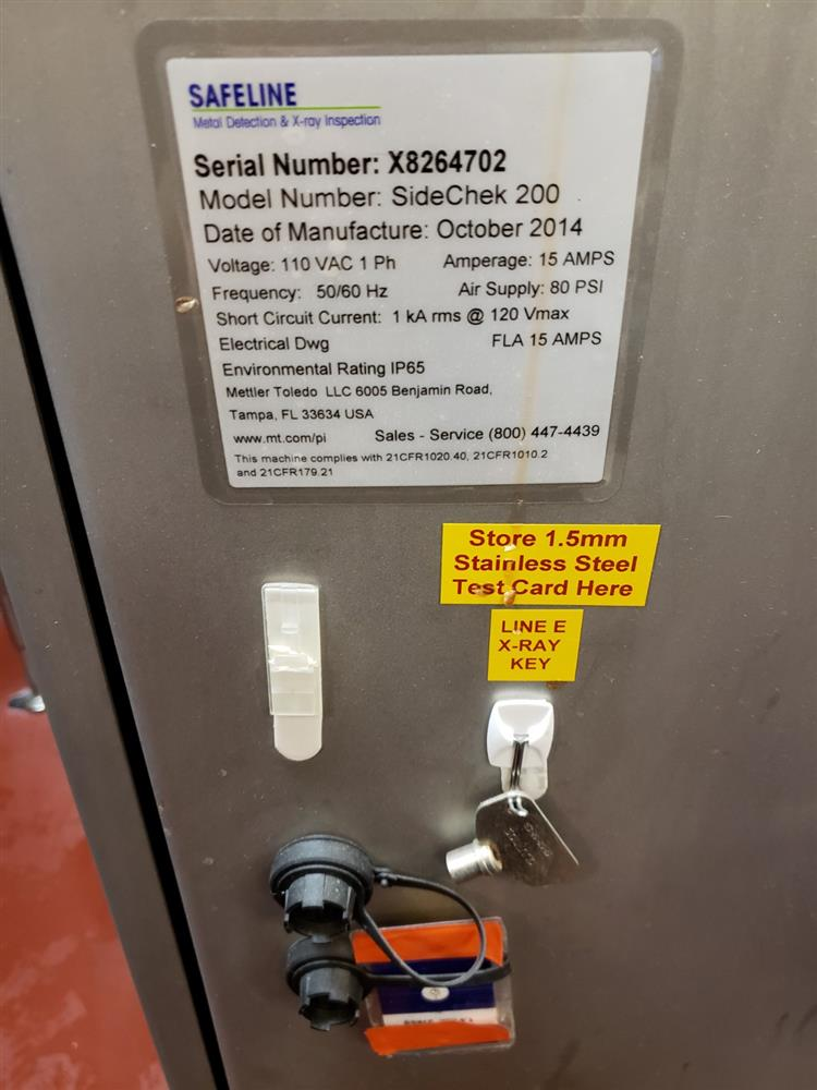 Image SAFELINE X-Ray Inspection Unit 1424252
