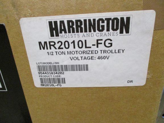 Image 1/2 Ton HARRINGTON Hoist and Power Trolley 1385976