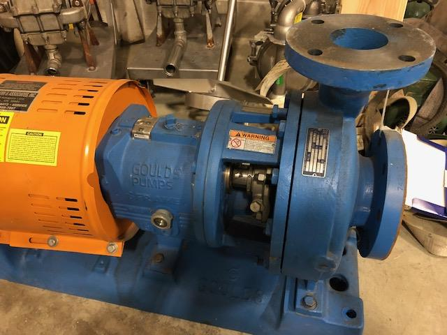 Image GOULDS 3196 Centrifugal Pump - Size 3X4-10 1386313