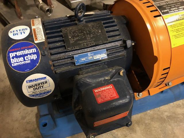 Image GOULDS 3196 Centrifugal Pump - Size 3X4-10 1386312