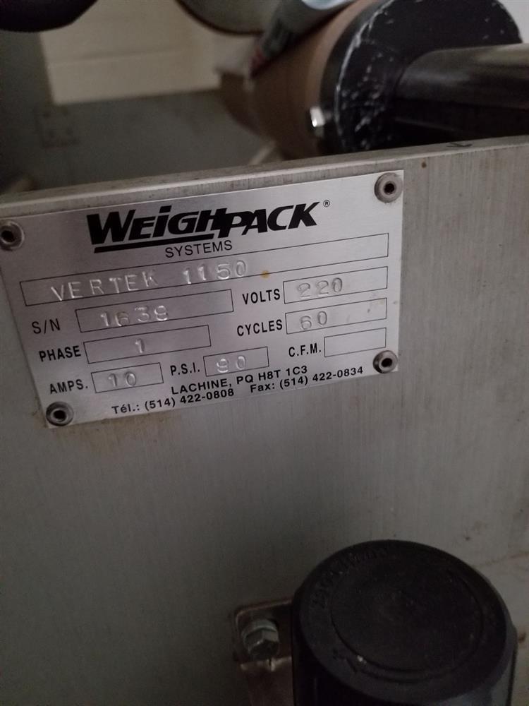 Image WEIGHPACK Vertek 1150 Form Fill Seal 1386403