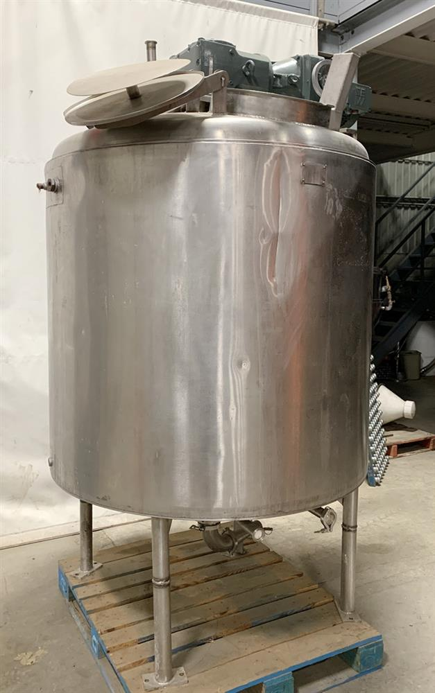 500 Gallon Water Tank >> 500 Gallon Jacketed Tan - 360221 For Sale Used N/A