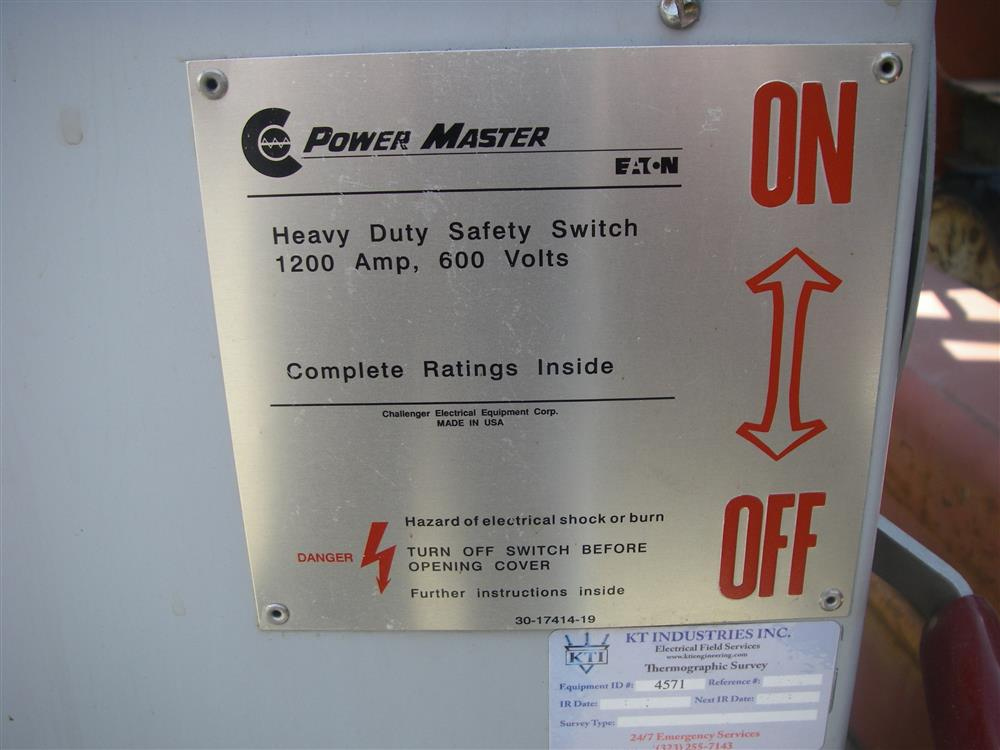EATON Power Master Safety S - 360659 For Sale Used