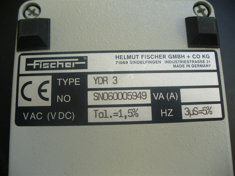 Image FISCHER YMP30S Anotest with Case, Accessories and Manual 1390767