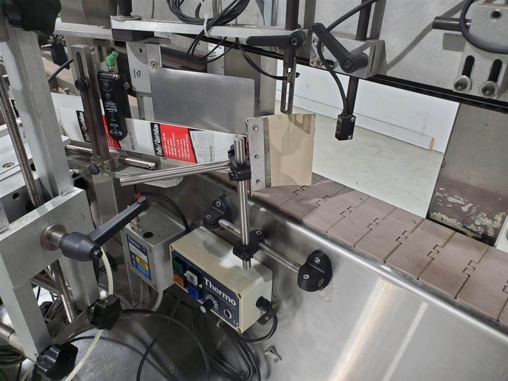 Image ARTEL Single Head Wrap Around Labeler - Model 311RSBPC, Parts Machine 1505224