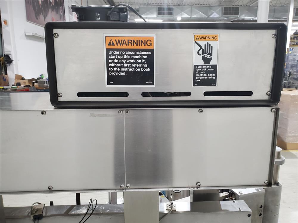 Image ARTEL Single Head Wrap Around Labeler - Model 311RSBPC, Parts Machine 1505231