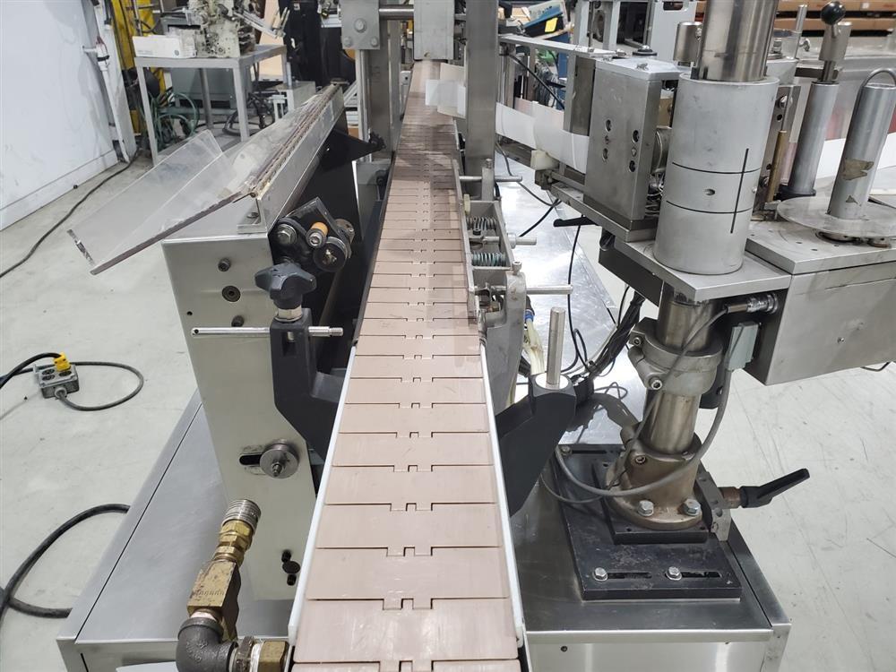 Image ARTEL Single Head Wrap Around Labeler - Model 311RSBPC, Parts Machine 1505233