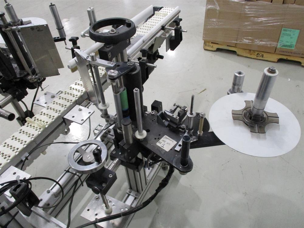 Image LABEL SYSTEMS Two Head Labeler 1391740