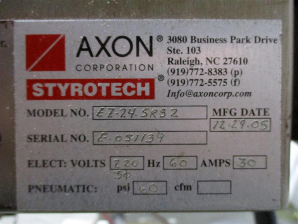 Image AXON EZ100 Shrink Sleever Neck Bander with EZ24 Heat Tunnel 1393520