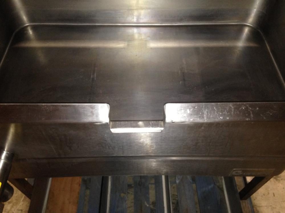 Image 40 Gallon GROEN BPM 40G Tilting Braising Pan Skillet - 2in Tangent Draw Valve 1394626