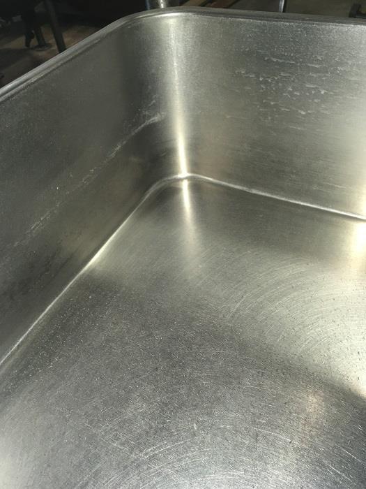 Image 40 Gallon GROEN BPM 40G Tilting Braising Pan Skillet - 2in Tangent Draw Valve 1406264