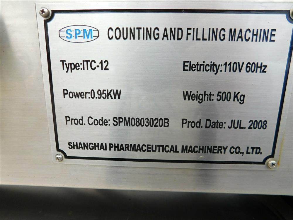 Image SHANGHAI ITC-12 Tablet / Capsule Filler 1394952