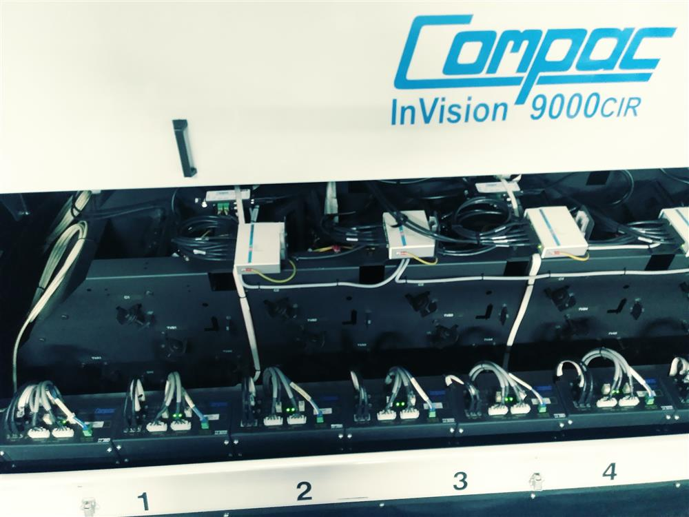 Image COMPAC InVision 9000CIR Sorter with LED Top and Bottom Lighting 1396553