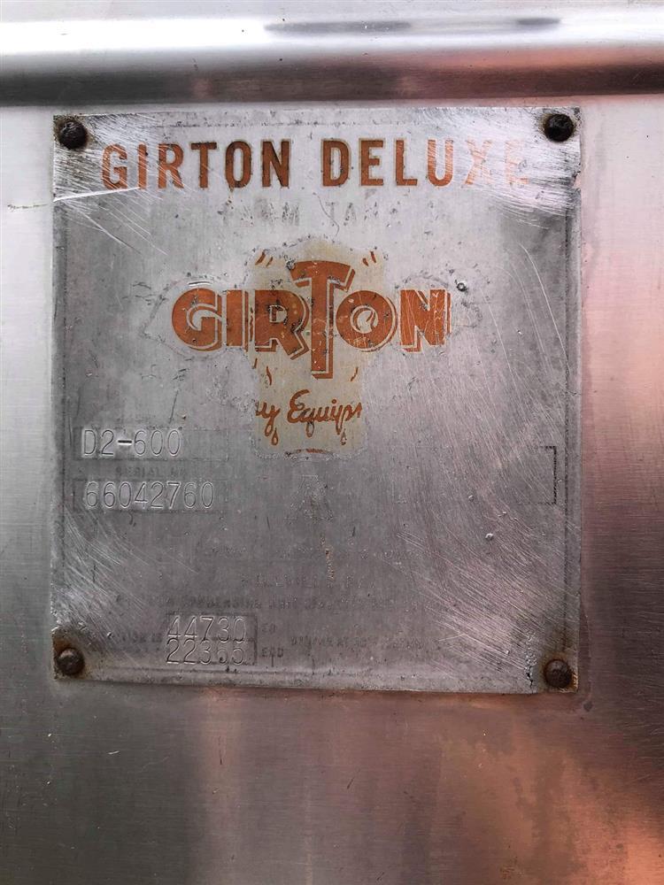 Image 600 Gallon GIRTON Bulk Tank 1396589