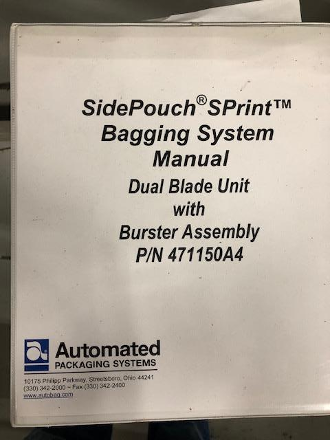 Image AUTOMATED PACKAGING SPrint Auto Bagger Side Pouch 1399411