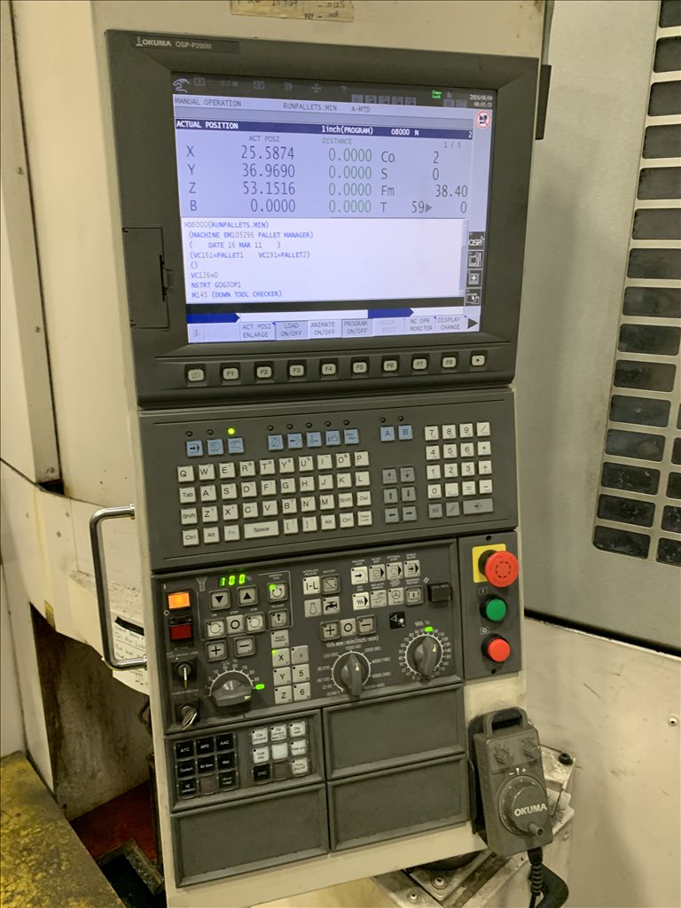 OKUMA MB-8000H CNC Horizont - 362551 For Sale Used