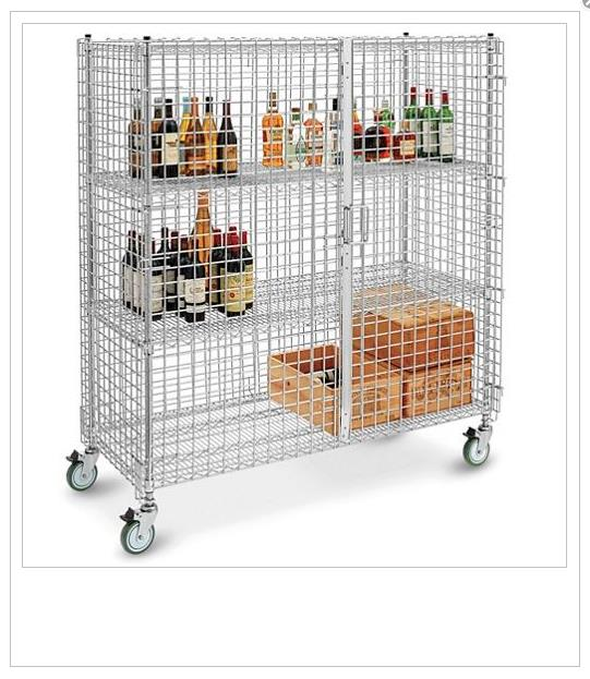 ULINE Security Cart - 60in - 362911 For Sale Used