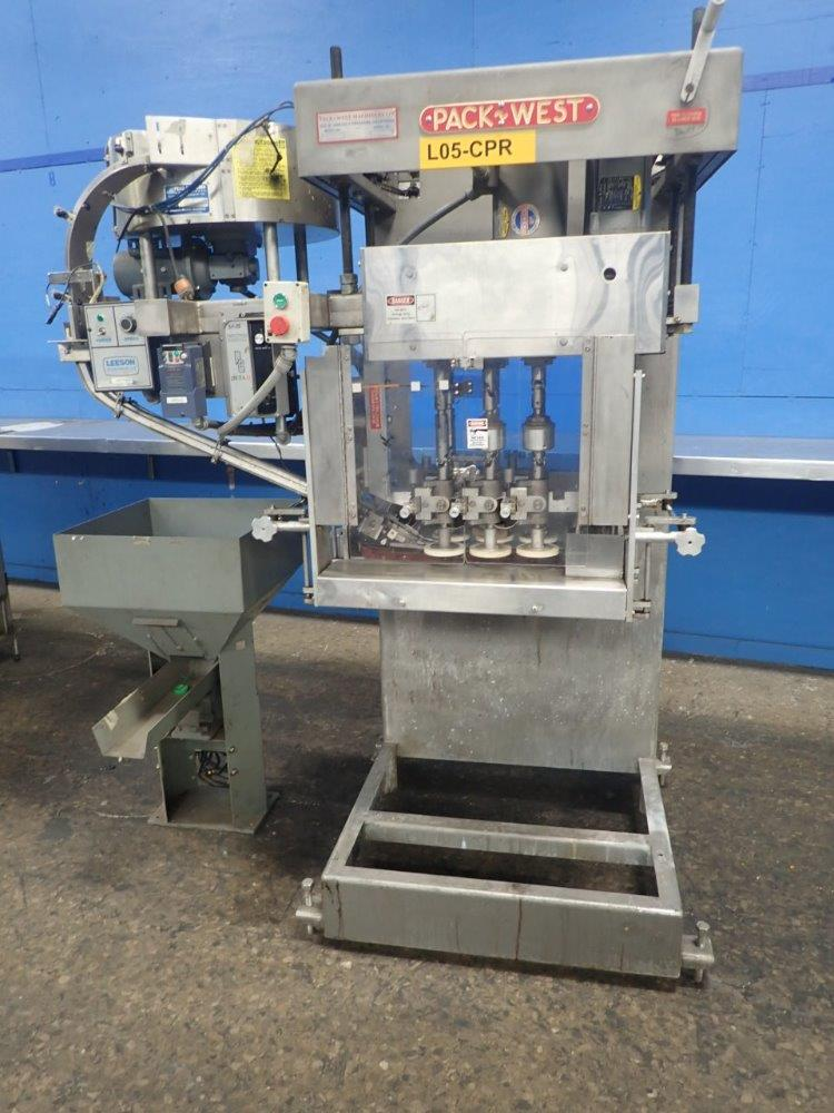 Image PACKWEST 120 Auto Capper 1406992