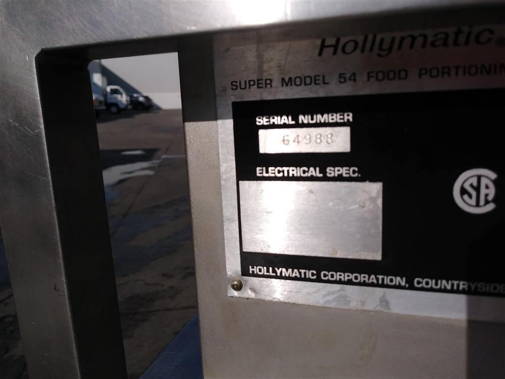 Image HOLLYMATIC SUPER 54 Patty Former 1529932