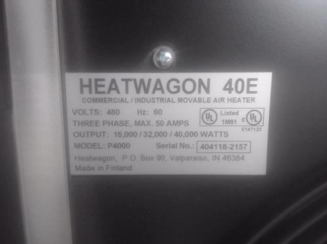 Image HEAT WAGON P4000 Electric Heater 1411199