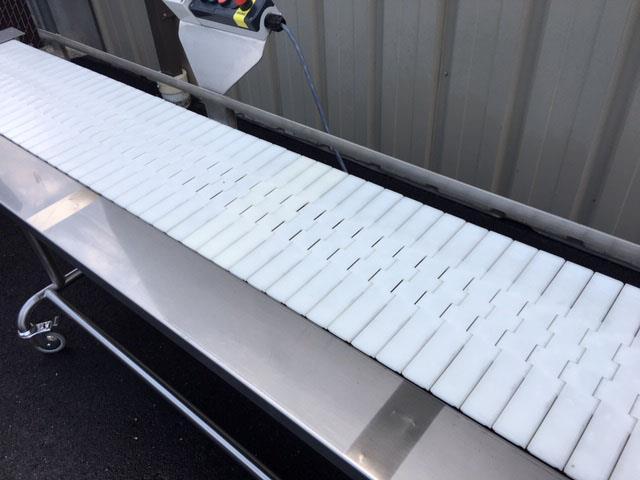 Image 12 in X 108 in MULTI-VEYOR Stainless Steel Table Top Chain Belt Conveyor 1411223
