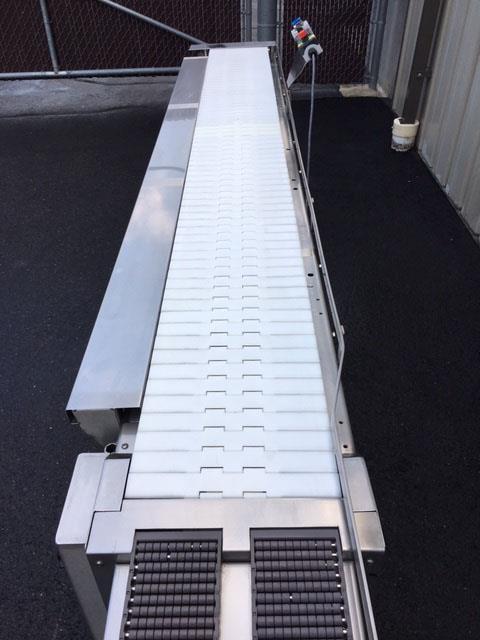 Image 12 in X 108 in MULTI-VEYOR Stainless Steel Table Top Chain Belt Conveyor 1411224