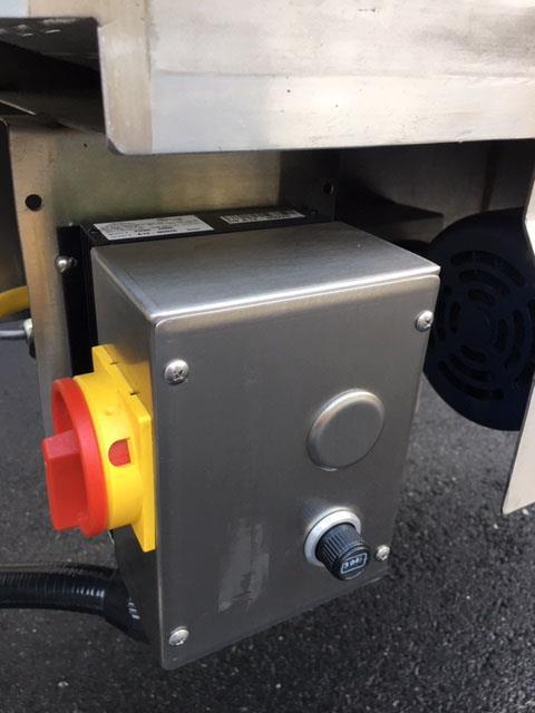 Image 12 in X 108 in MULTI-VEYOR Stainless Steel Table Top Chain Belt Conveyor 1411226