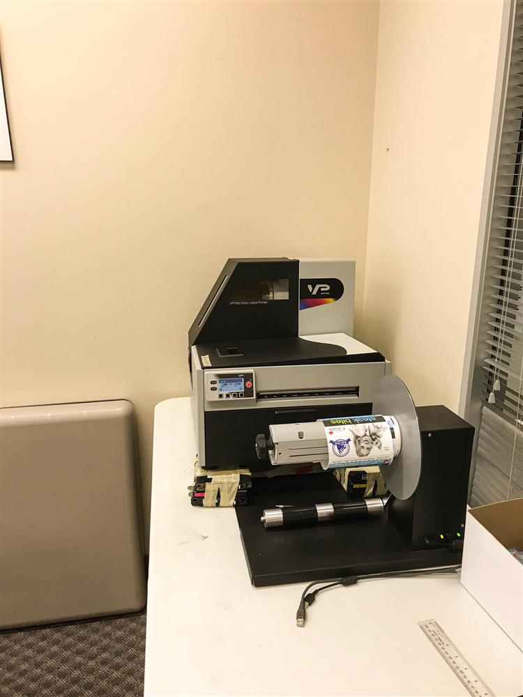 Image MEMJET VP700 Roll to Roll Label Printer 1411975