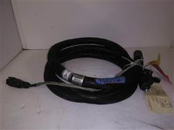 Image 12ft NORDSON 274795D Hot Melt Adhesive Hose - Rectangle Plug 1421155