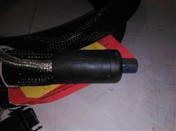 Image 12ft NORDSON 274795D Hot Melt Adhesive Hose - Rectangle Plug 1421156