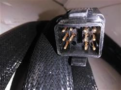 Image 20ft NORDSON 223836B Hot Melt Adhesive Hose - Rectangle Plug 1421199