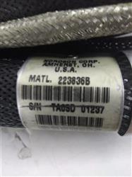 Image 20ft NORDSON 223836B Hot Melt Adhesive Hose - Rectangle Plug 1421204