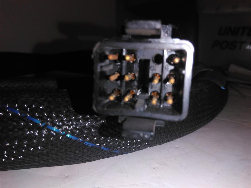 Image 10ft NORDSON 107289C Hot Melt Adhesive Hose - Rectangle Plug 1421317