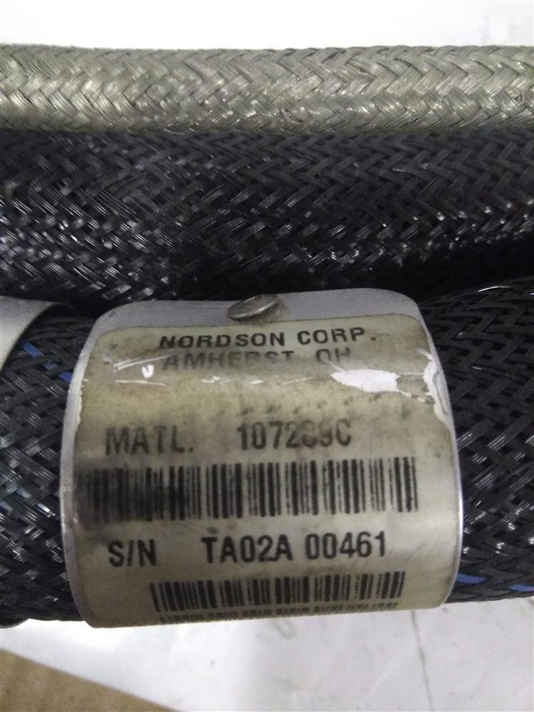 Image 10ft NORDSON 107289C Hot Melt Adhesive Hose - Rectangle Plug 1421321