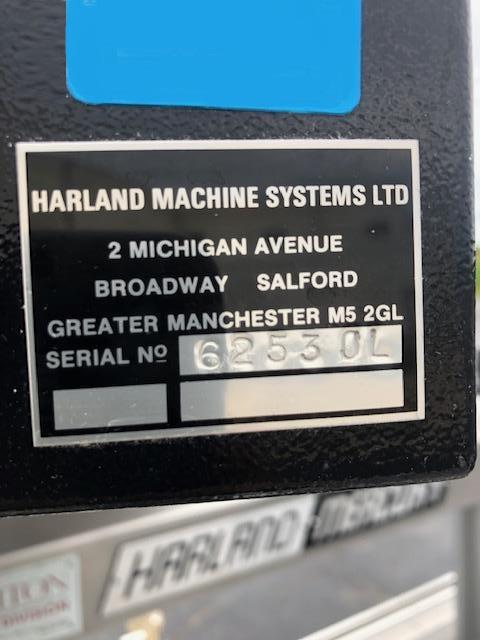 Image HARLAND MERCURY Front / Back / Wrap Labeler 1422684