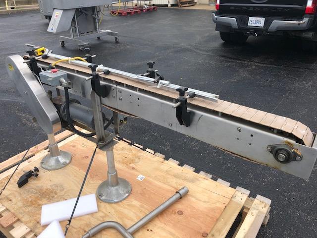 Image 4.5in X 72in Long ARROWHEAD Conveyor - Stainless Steel 1422818