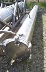 Image 690 Sq. Ft. ENERQUIP Shell and Tube Heat Exchanger - Sanitary 1423158