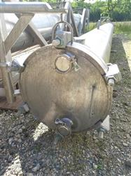 Image 690 Sq. Ft. ENERQUIP Shell and Tube Heat Exchanger - Sanitary 1423159