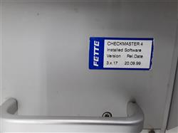 Image FETTE Checkmaster 4 Tablet Tester with Mettler Toldeo AB54 Scale 1423503