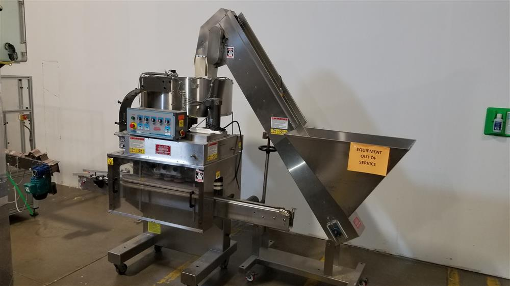 Image KAPS-ALL A-6 Spindle Capper with FS-B Hopper Feeder 1424009
