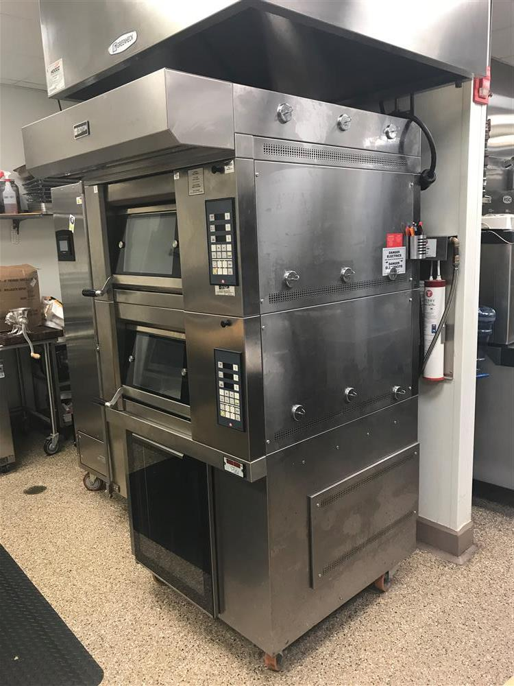 Image DOYON Artisan Stone Double Deck Oven with European Style Proofer-Reach In  1424030