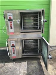 Image CLEVELAND Rolling OGS-6.20 Natural Gas Oven - Double Stacked  1424125