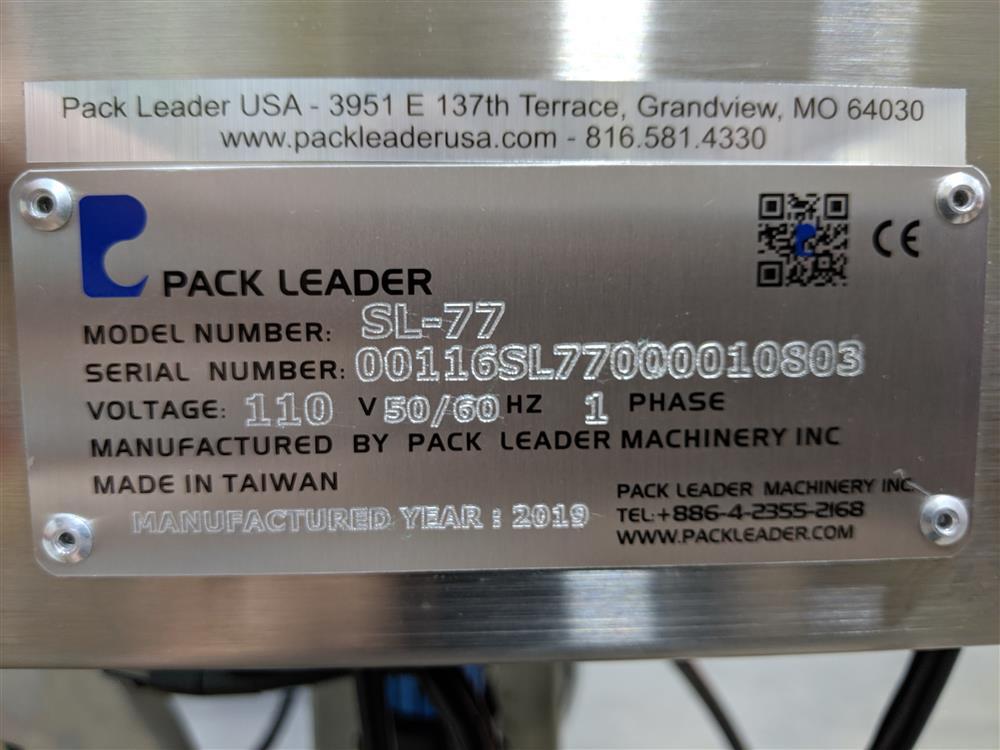 Image PACK LEADER SL-77 Shrink Band Labeler 1424256