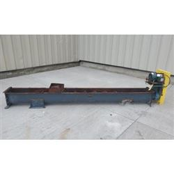 Image 9in Dia. Center Feed Screw Auger Conveyor Feeder -  Carbon Steel 1424337