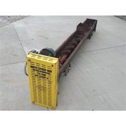 Image 9in Dia. Center Feed Screw Auger Conveyor Feeder -  Carbon Steel 1424338