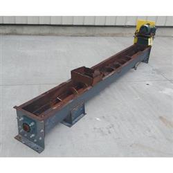 Image 9in Dia. Center Feed Screw Auger Conveyor Feeder -  Carbon Steel 1424339