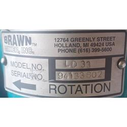 Image 1/2 HP BRAWN MIXER INC. LD33 Liquid Mixer - Stainless Steel 1424353